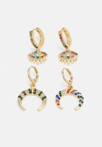 MARISA EARRINGS 2 PACK - Earrings - gold-coloured