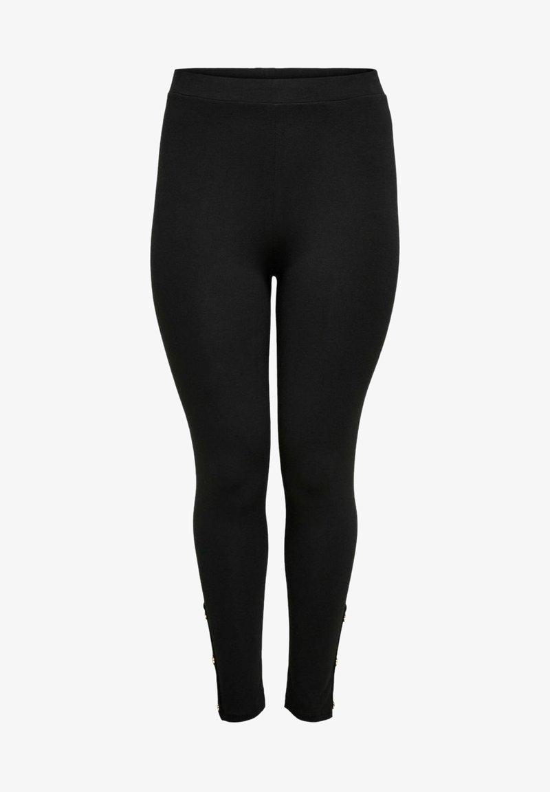 ONLY Carmakoma - Leggings - Trousers - black