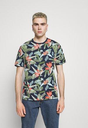 ONSKLOP LIFE TEE - T-shirt print - dress blues