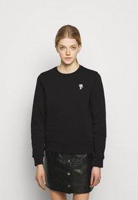 KARL LAGERFELD - MINI IKONIK PATCH  - Sweatshirt - black - 0