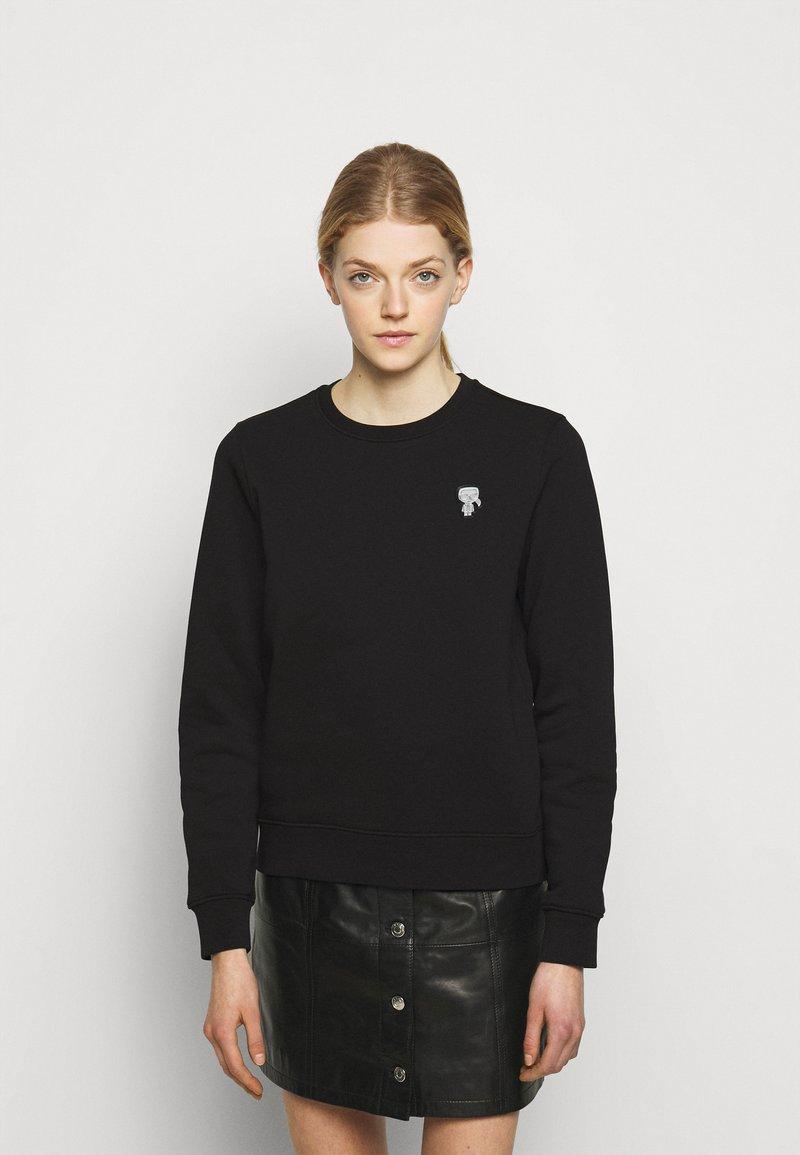 KARL LAGERFELD - MINI IKONIK PATCH  - Sweatshirt - black