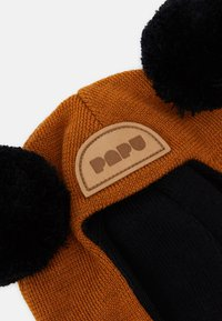 Papu - BALACLAVA BEANIE UNISEX - Beanie - earth brown/black - 2