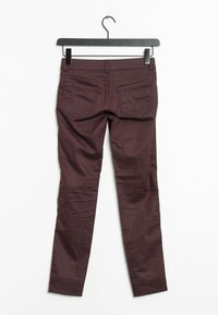 s.Oliver BLACK LABEL - Trousers - red - 1