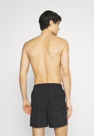 JJIBALI JJSWIM SOLID - Swimming shorts - black