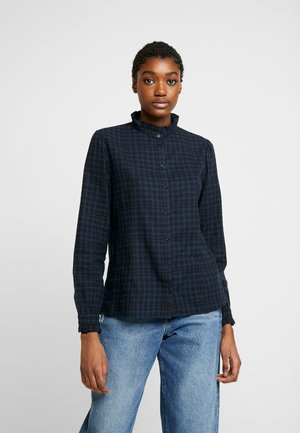 FEMME COUNTRY FRILL - Blouse - total eclipse