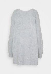 Noisy May Curve - Cardigan - light grey melange - 1