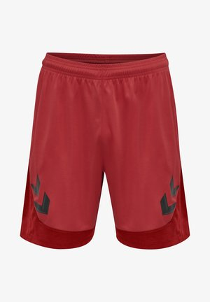 POLY - Sports shorts - true red