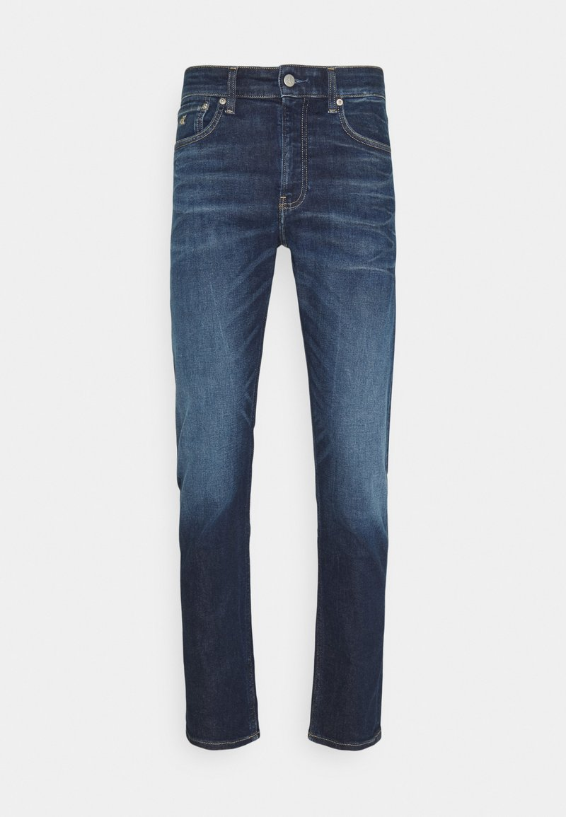 Calvin Klein Jeans - SLIM TAPER - Jeans Tapered Fit - blue