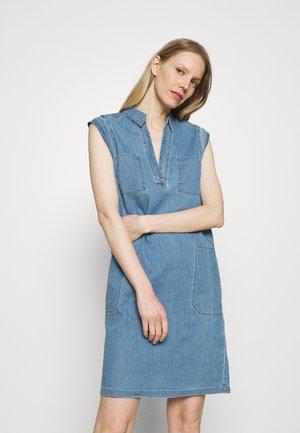 DRESS TUNIQUE STYLE   - Robe chemise - blue denim