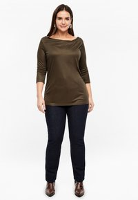 Triangle - MIT WASSERFALL - Long sleeved top - brown - 1