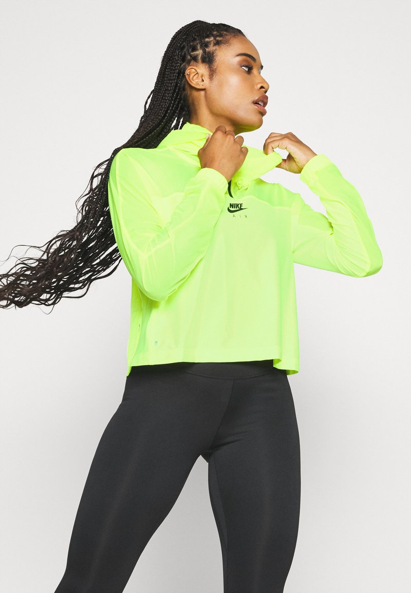 Nike Performance - AIR - Sports jacket - volt/black