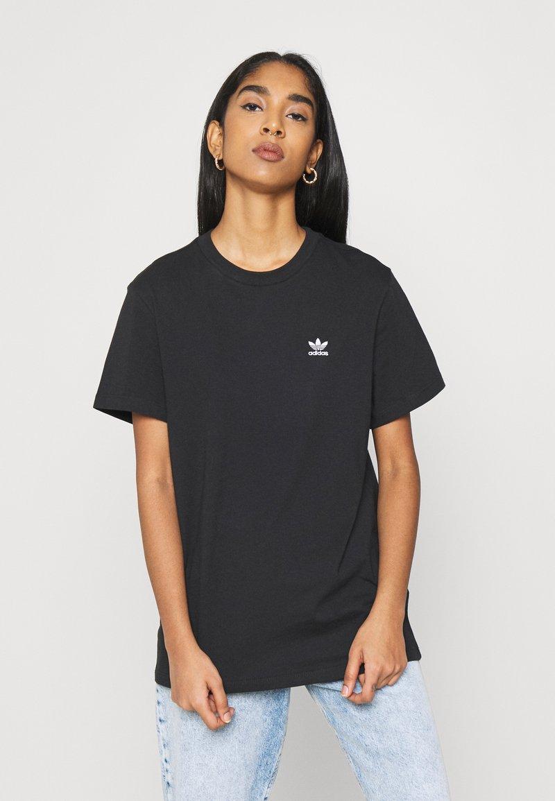 adidas Originals - LOOSE TEE - Print T-shirt - black