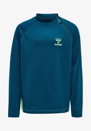 ACTION  - Sweatshirt - blue coral/green ash
