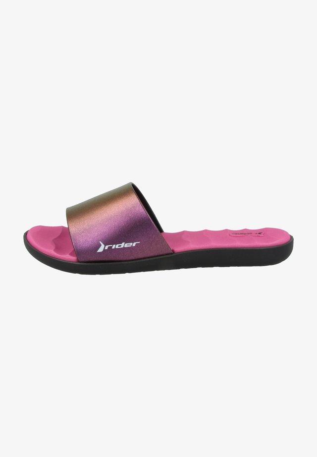 WAVE II FEM - Sandaler - black/chameleon/pink