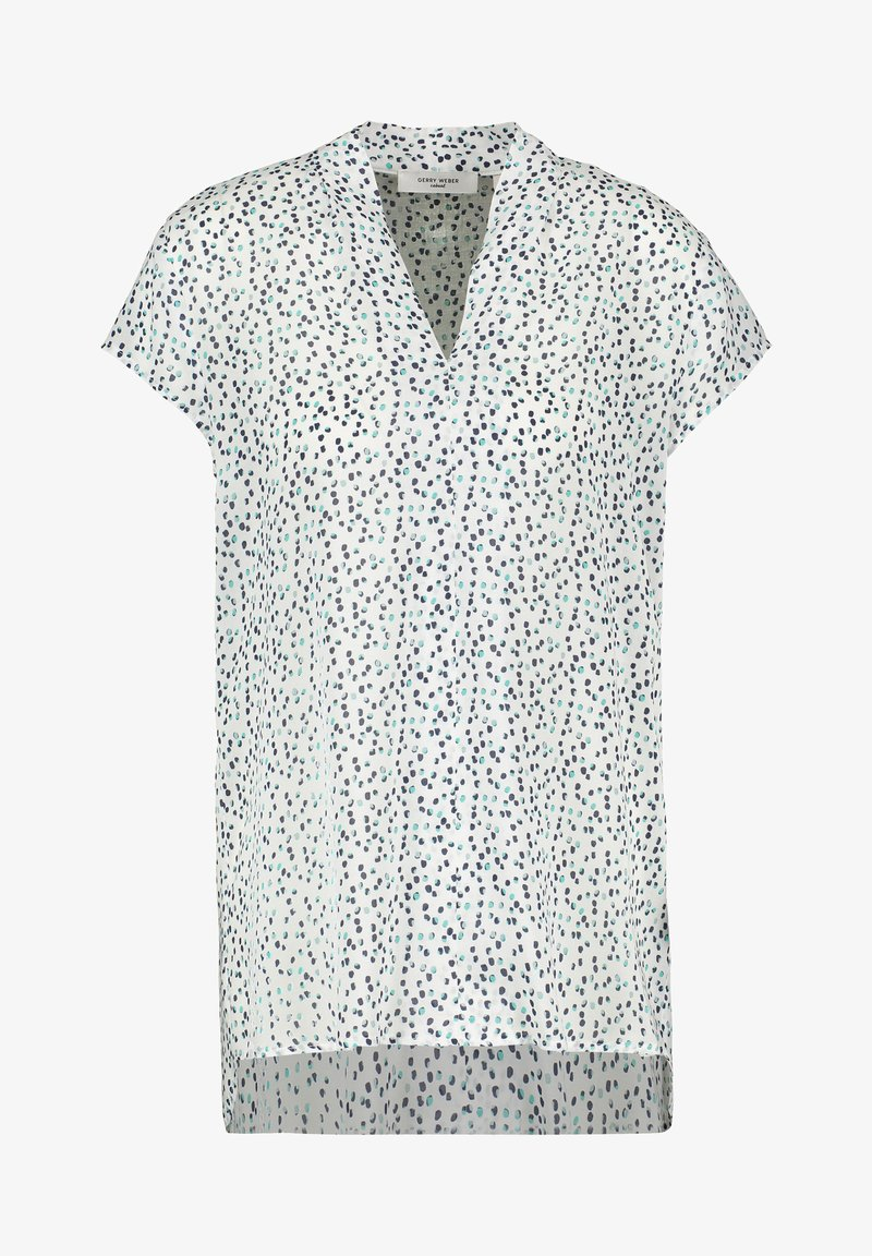 Gerry Weber Casual - Blouse - beige/white/blue