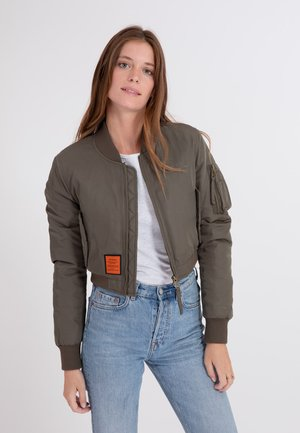 SLASH - Bomber Jacket - kaki