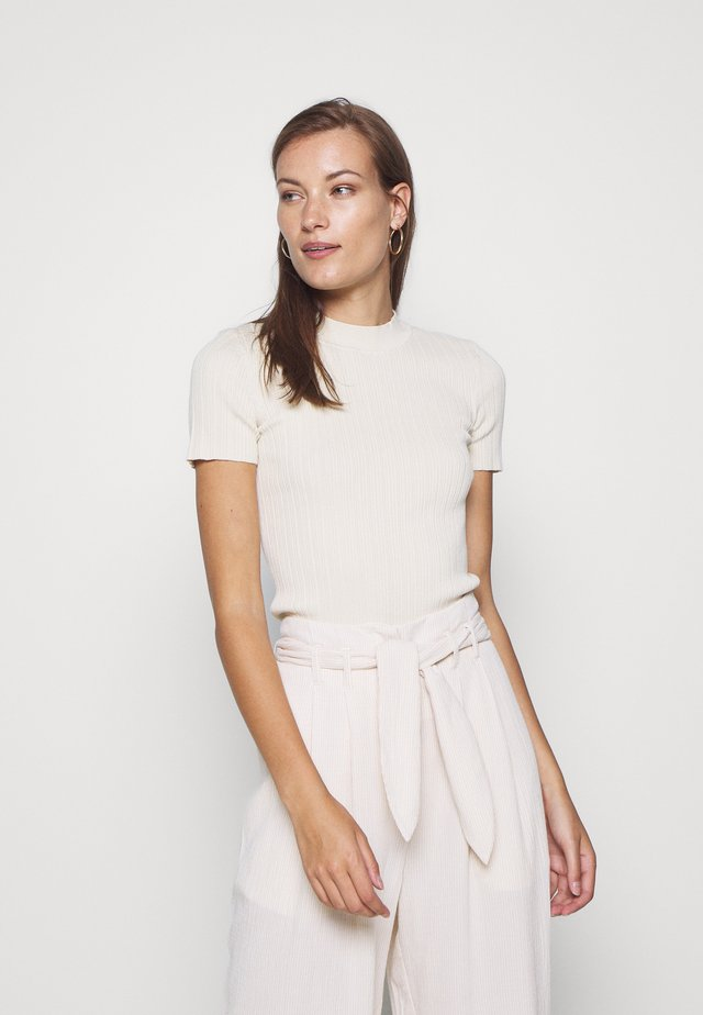 JOAN - T-shirt basic - warm white