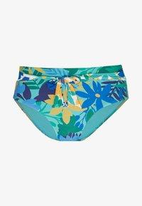 WAIST BRIEF - Bikini bottoms - blue