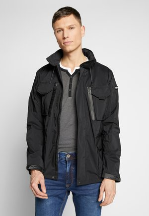 FOXTER RIPSTOP - Summer jacket - black