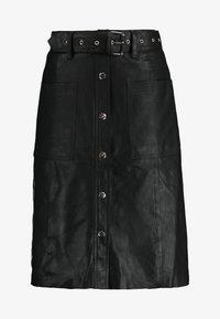 YAS - YASANDREA NAPPALON SKIRT - A-line skirt - black - 3