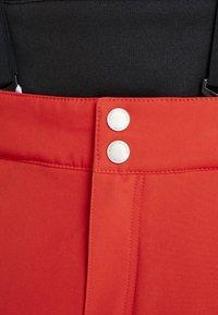 Halti - PUNTTI PANTS - Snow pants - lava red - 7