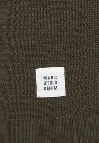 Marc O'Polo DENIM - LONG SLEEVE WITH ROUND NECK - Strickpullover - dark scandinavian olive - 2
