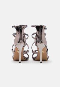 Buffalo - MERCY - Sandály na vysokém podpatku - pewter - 3