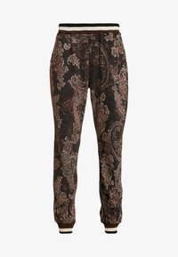 Cream - MONA PANTS - Trousers - pitch black - 4