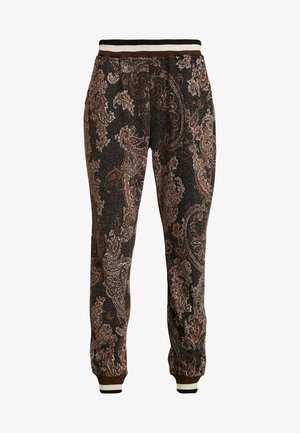 MONA PANTS - Broek - pitch black
