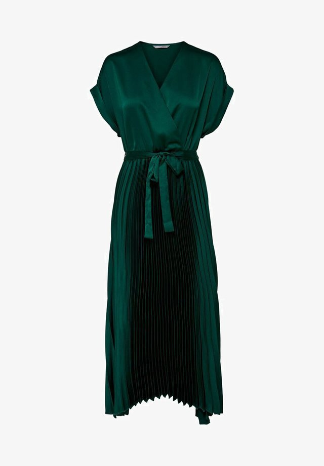 Sukienka koktajlowa - rain forest