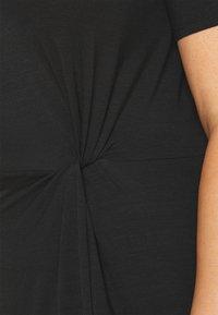 Vero Moda Curve - VMAVA LULU ANCLE DRESS - Maxi dress - black - 5