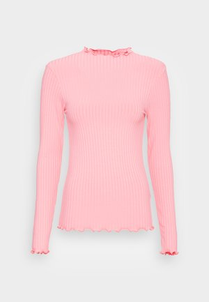 SOLID TRUTTE - Long sleeved top - strawberry pink