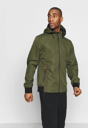 ICEPEAK CALHAN - Hardshell jacket - dark olive