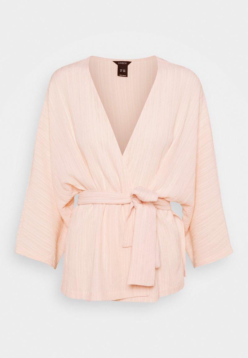 Lindex - KAFTAN KIMMI - Summer jacket - light pink