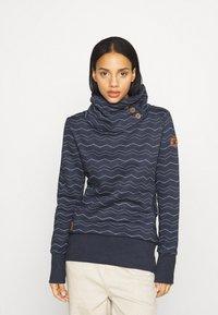 Ragwear - CHEVRON - Sweatshirt - navy - 0