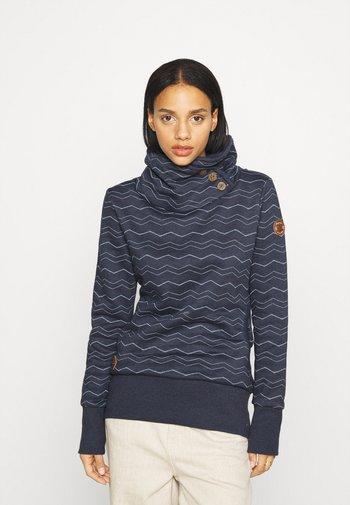 CHEVRON - Sweatshirt - navy