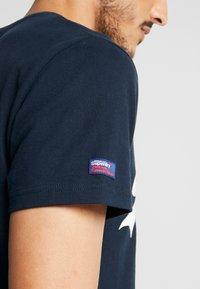 Superdry - TEE - Print T-shirt - eclipse navy - 5