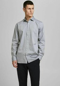 Jack & Jones PREMIUM - JPRBLAROYAL - Formal shirt - light grey melange - 0
