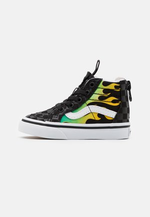 SK8 ZIP UNISEX  - Sneakers high - black/true white