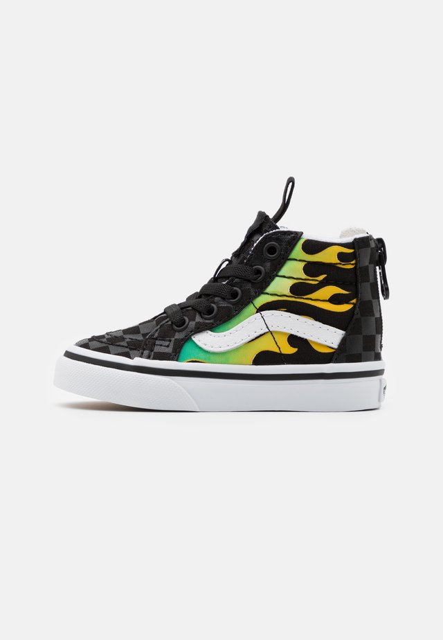 SK8 ZIP UNISEX  - Baskets montantes - black/true white