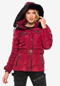 Cipo & Baxx - Winter jacket - burgundy - 6