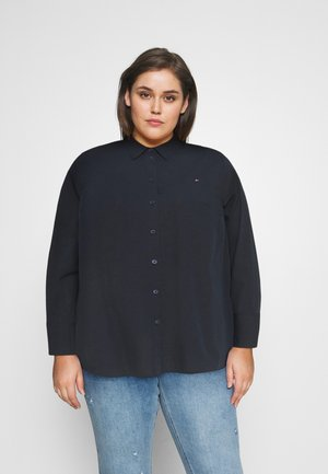 POP MONICA - Button-down blouse - desert sky