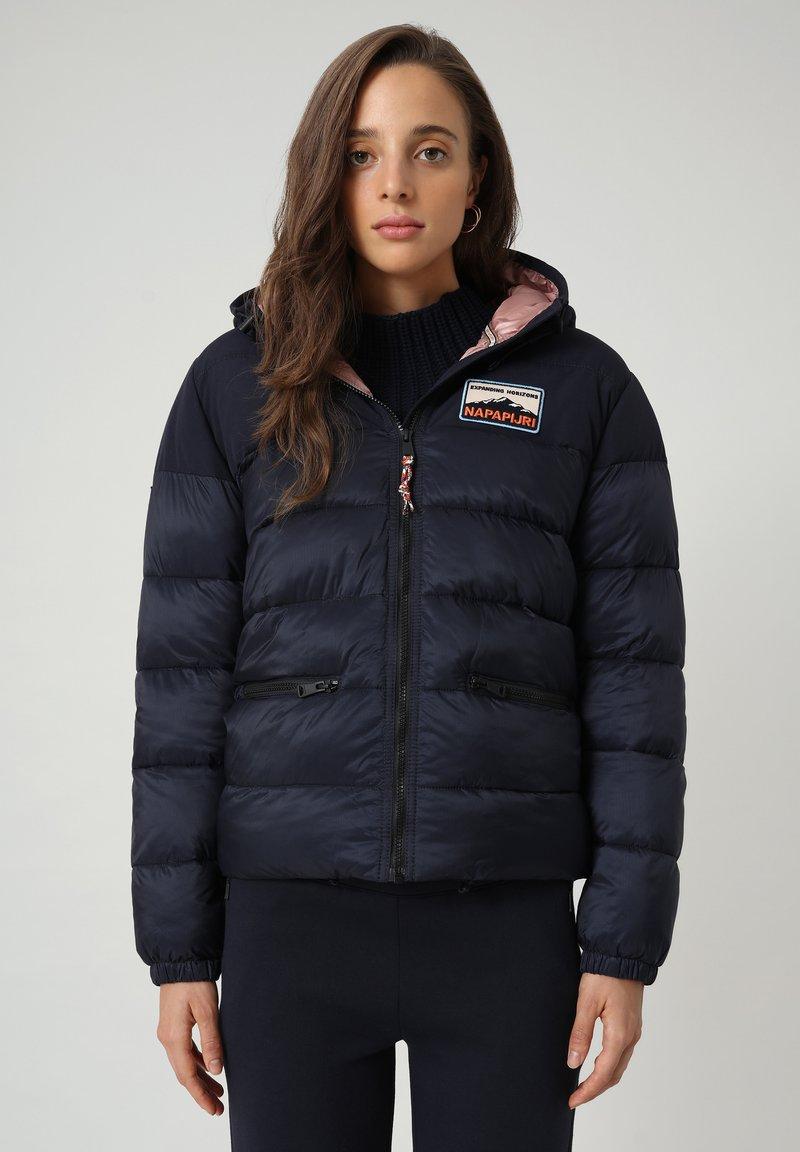 Napapijri - ATERBLU  - Winter jacket - blu marine