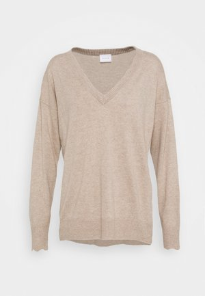 VICASHMI KASHMIR MIX - Jumper - natural melange