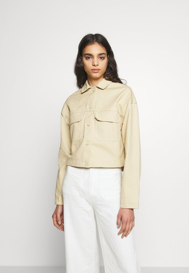 NEVADA WORKER JACKET - Jeansjacka - desert