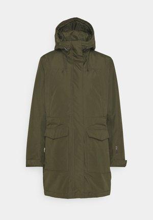 Outdoor jacket - utility green