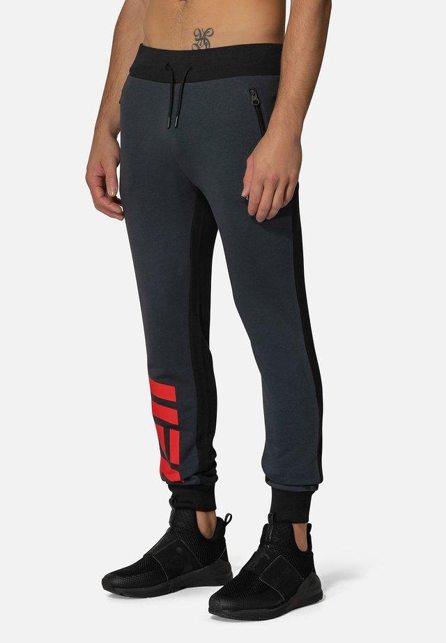 UOMO - Pantaloni sportivi - black/anthracite