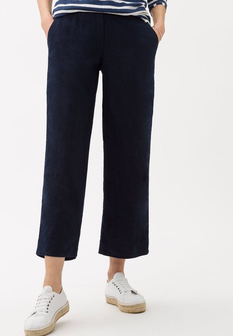 BRAX - STYLE MAINE S - Trousers - navy