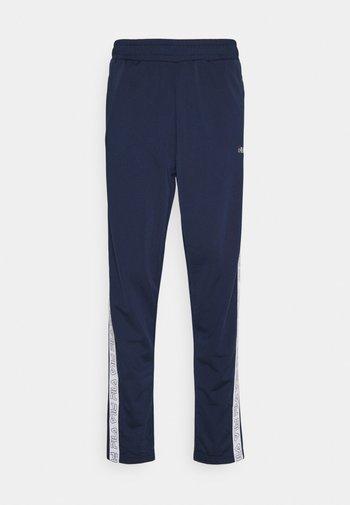JAIRUS TAPE TRACK PANTS - Pantalones deportivos - black iris