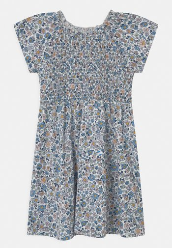 MINI SMOCK CHEST - Jersey dress - light dusty white